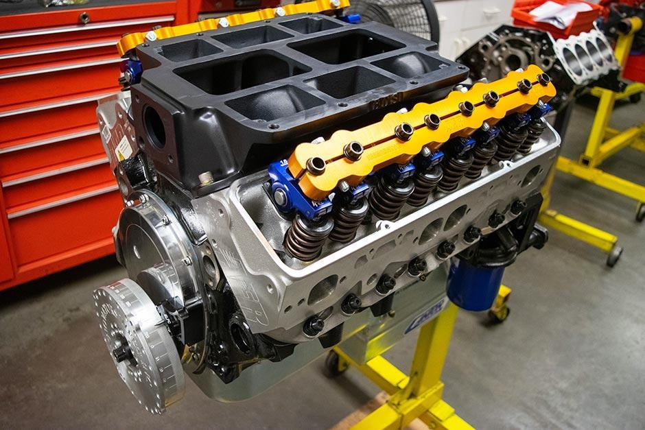 Supercharged Small Block Chevy Engine