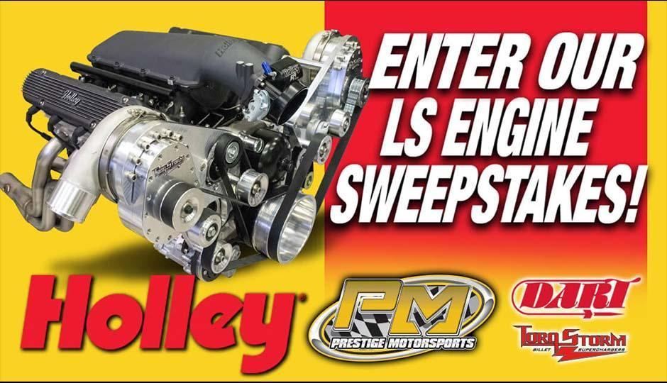 Enter to Win: 2020 Holley LS Engine Sweepstakes