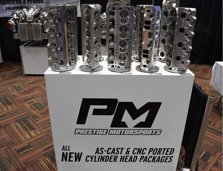 Prestige Motorsports Cylinder Head Display