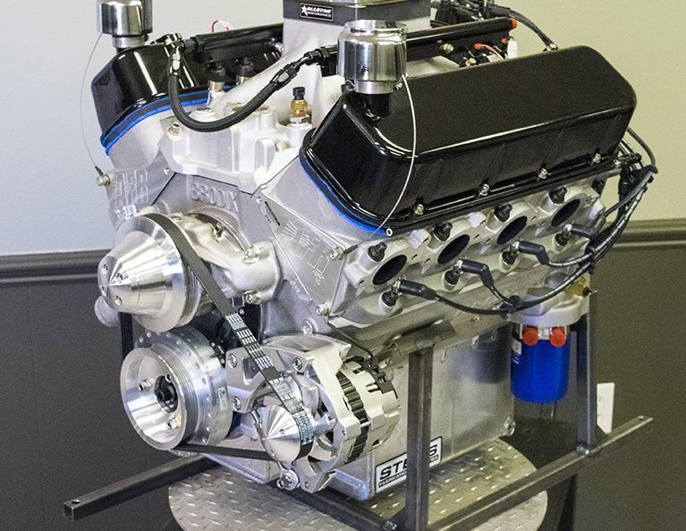 632 Chevy Big Block Stroker Marine Engine: C632-M-C1