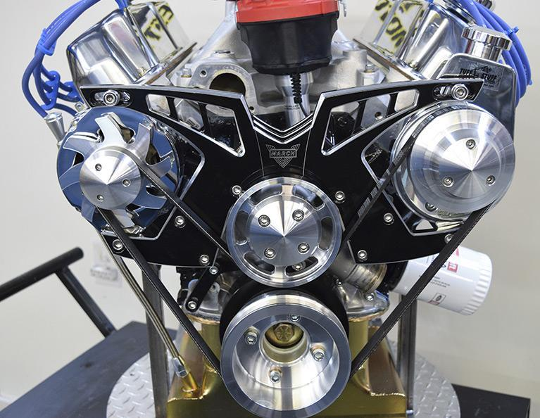 347 Ford Small Block Stroker Crate Engine: F347-HR-C3