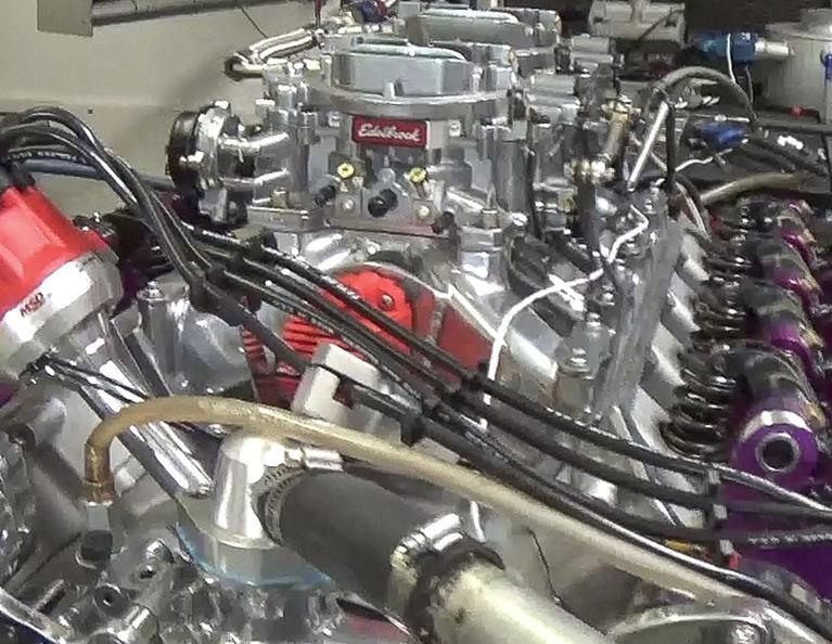 572 Mopar Big Block Hemi Crate Engine: M572-SSA-C1