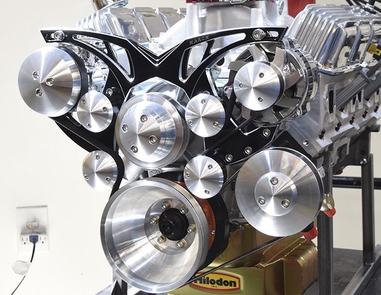 408 Mopar Small Block Stroker Crate Engine: M408-HR-C1