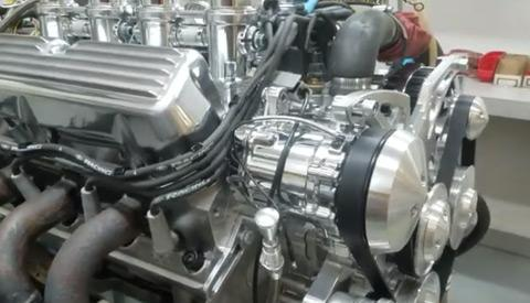 Aluminum 427 Ford Windsor with Borla Stack Injection