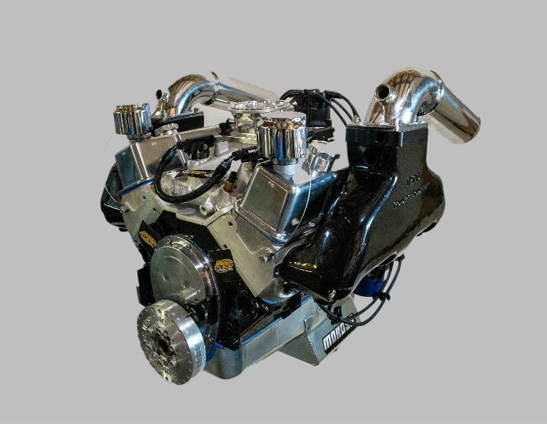 383 Chevy Small Block Stroker Marine Engine