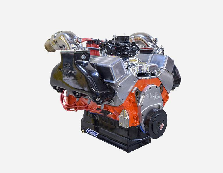 427 Chevy Small Block Stroker Marine Engine