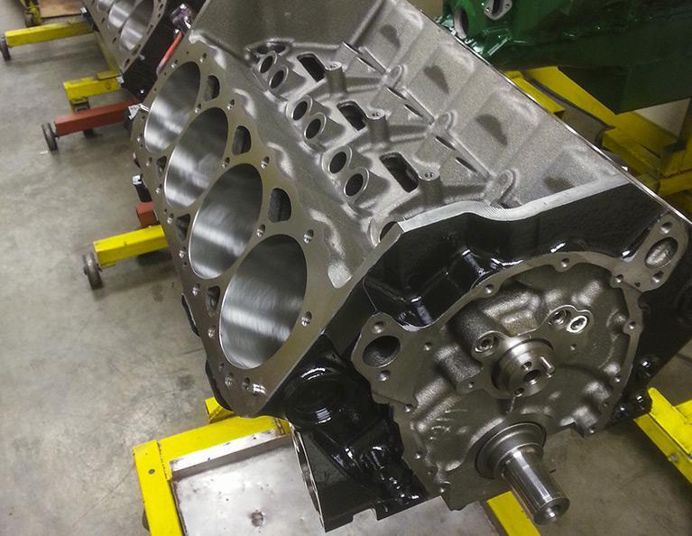 427 Chevy Small Block Stroker Crate Engine: C427-SS-C1