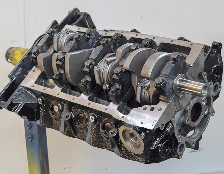 363 Ford Small Block Stroker Crate Engine: F363-SS-C2